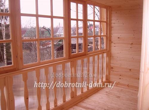 Строительство дома 6х8 м по индивидуальному проекту - доброт.